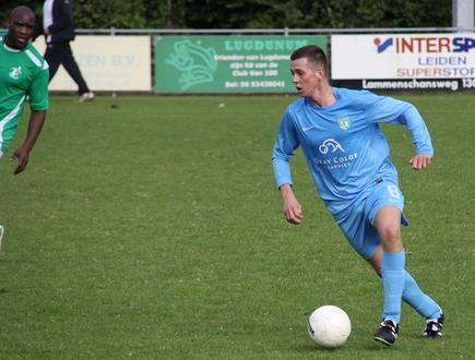 Sander Schmand aan de bal